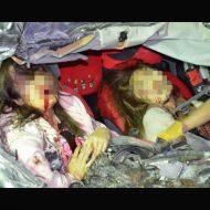 【女の子 死体】事故で死んじゃった女の子二人の表情があまりにも衝撃的すぎるから貼ってく ※グロ画像