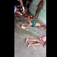 【グロ動画】ブラジル人間精肉会社刑務所支部の解体現場をご覧ください みんな五体不満足でただの肉塊になっとったわw ※閲覧注意