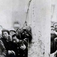 【グロ画像】今から100ちょっと年前、中国での処刑写真貼ってく