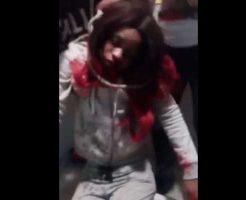 【殺人 少女】拉致った女の子をボコボコにして首絞して殺したったw口から泡吹いて汚な過ぎwww ※グロ動画