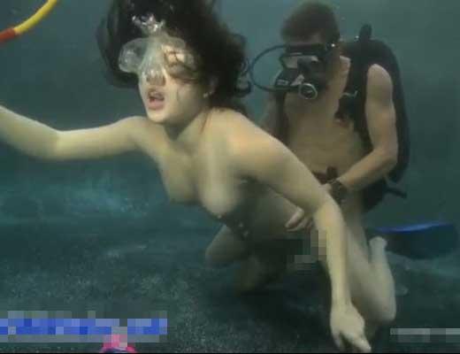 水中 セックス