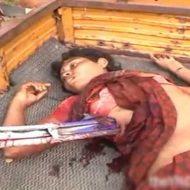 【少女 死体】大きな鉄の棒貫通して死んでしまった女の子さんの亡骸をみて処女かどうか確認するスレはこちら ※グロ動画
