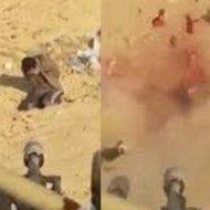 【処刑映像】無慈悲過ぎる北朝鮮処刑映像がコレ 対空砲使用してオーバーキルってレベルじゃなかった・・・ ※グロ動画