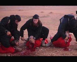 【処刑映像】ISISの斬首殺人ビデオで一番手の込んでる動画がコレ 映像クオリティ上げたところでやわ・・・ ※グロ注意
