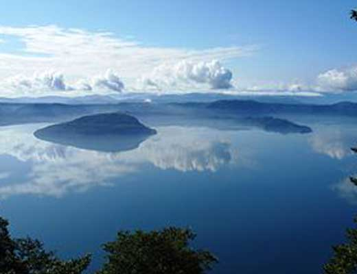十和田湖風景写真