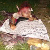 【女 死体】メキシコの若妻 カルテルに拉致られ殺され下着晒されながら捨てられるとかここ男女平等の国ですわwww ※グロ画像
