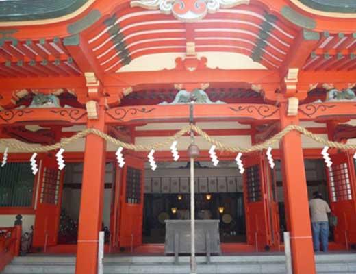 淡嶋神社風景写真