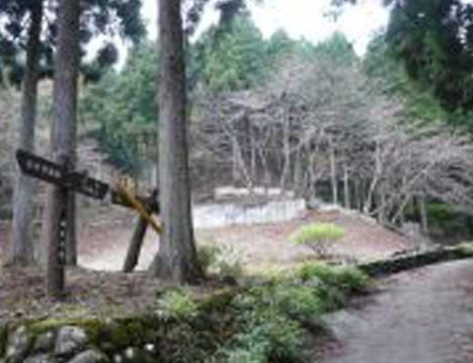 不動尻キャンプ場跡風景写真