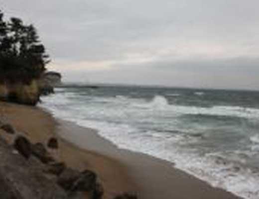 五浦海岸風景写真