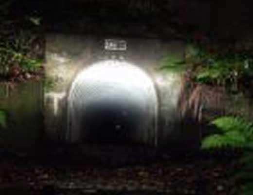 熊沢トンネル風景写真