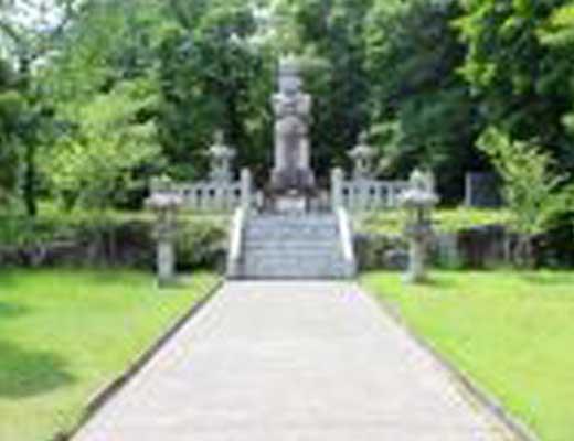 倶利伽羅古戦場跡地風景写真