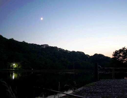 くろんど池風景写真