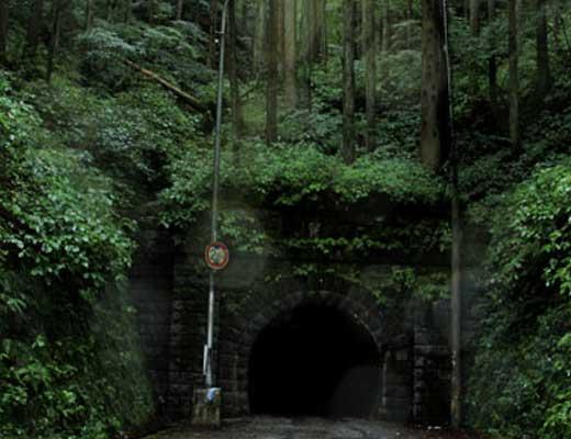 旧伊勢神トンネル風景写真