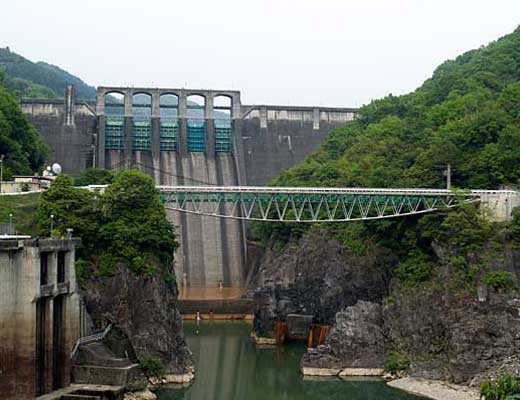 丸山ダム風景写真
