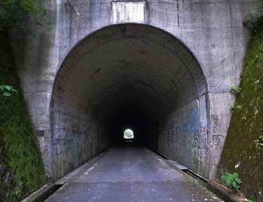 梨の木隧道風景写真