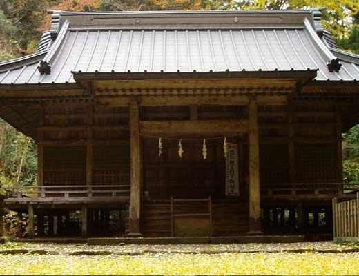 二ノ岡神社風景写真