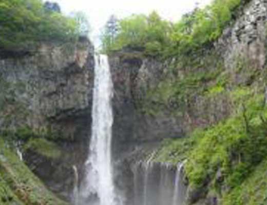 華厳の滝風景写真