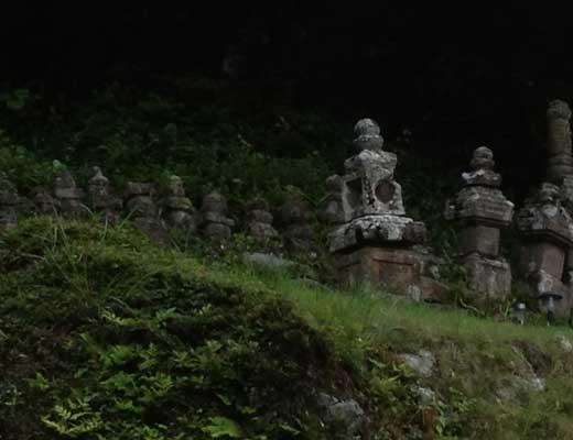 平家の墓風景写真