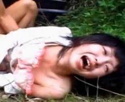 【ガチレイプ】強姦魔に狙われてしまった少女さんが抵抗むなしく処女喪失させられるまで記録・・・ ※無修正エロ動画