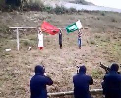 【銃殺映像】フィリピンの死刑囚銃殺刑の執行映像がコレ まだ口パクパクしてるけどそのままにしとくんかいな・・・ ※グロ動画