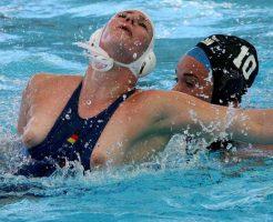 【ハプニング】女子水球とか言うおっぱいポロリスポーツがコレwww ※無修正エロ動画