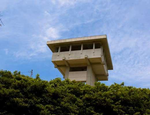 谷上山展望台風景写真