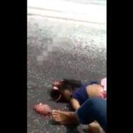 【少女 死体】幼女の脳みそって見たことある???路上でポロリしとるんやけど・・・ ※グロ動画