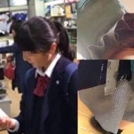 【盗撮動画】某アイドルグループにいてそうなJK少女さんのパンツ逆さ撮りしてから精子ぶっかけたったw