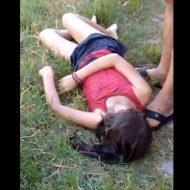 【悲報】発育途中のJSさんがみずみずしい状態で発見された模様 川遊びは危険だな・・・ ※少女 死体