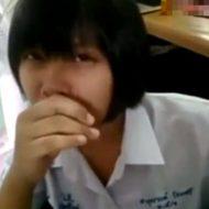 【ロリ動画】リアルガチのJKさんのフェラ映像が公開された模様wこんなん退学必至やんけwww ※無修正 エロ