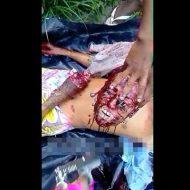 【グロ動画】カルテル「まず頭の皮を剥ぎます。それから生首チョキチョキ祭りだ!!!!」 マジでクッソ怖い・・・ ※処刑映像