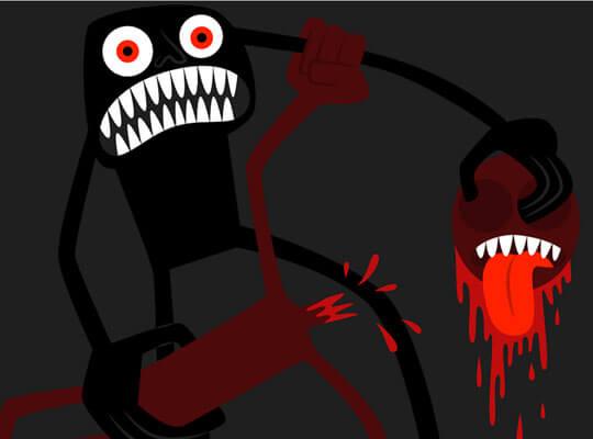 【グロ動画】メキシコ麻薬カルテルの抗争現場 顔から血を流しながら怯える男性をナイフで処刑していく惨殺映像がコレ