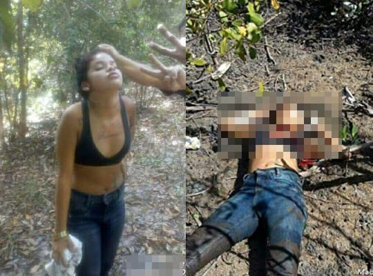 【【グロ動画】こんな少女でも麻薬カルテルに拷問されて惨殺されます・・・ ※女 死体