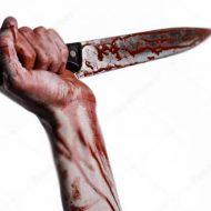【殺人映像】嫁を中華包丁でトントンと顔面を切りつけて殺していく夫が起こした事件映像が怖すぎる・・・ ※グロ動画