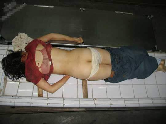 少女レイプ殺人死体グロ画像