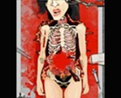 【フラッシュゲーム】女の子の死体を刻みまくって死因を特定していく無料Flashゲーム「AMY AUTOPSY」