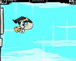 【グロゲーム】飛び降り自殺で落下しながらポイント貯めていくとか鬼畜過ぎる奴やんけw