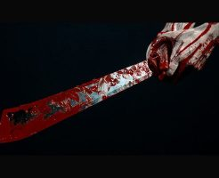 【グロ動画】切断された生首の断面、体をマチェットで切り刻んでいく音がヤバ過ぎる死体解体映像・・・