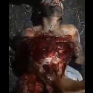 【カルテル】叫び声がエグ過ぎる 生きたまま内蔵取り出して処刑しているグロ動画・・・