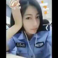 【無修正】退職不可避w美人女性警察官のリベンジポルノ映像が流出しとったwww