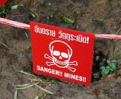 【グロ画像】世界で5000万個埋められている「地雷」を踏んでしまった3人の少女達が・・・