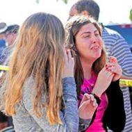 【衝撃】米フロリダ州の高校での銃乱射事件 17人が死亡した学校内の映像・・・