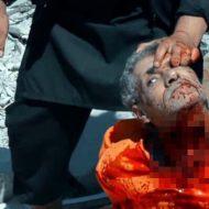 【isis グロ】首をねじり切って殺害するイスラム国の処刑映像・・・