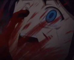 【グロアニメ】ナイフでめった刺し 目をエグり取られた少女の悲鳴がこだまする・・・