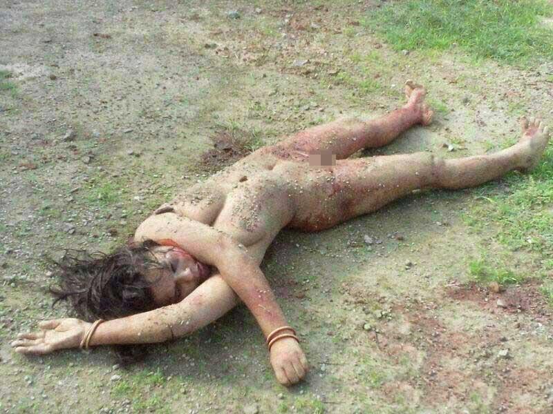 女の子の死体エログロ画像