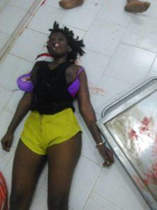 女性歌手全裸死体流出画像