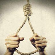 【自殺配信】日本人の少年による首吊り自殺 動かなくなるまでの一部始終映像