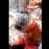 【グロ動画】片方ずつ耳切り落とし斬首 心臓をエグリ出して処刑するギャング達がヤバ過ぎる・・・