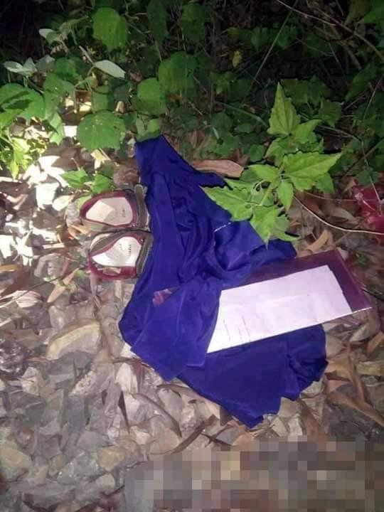 レイプされた少女の轢断死体