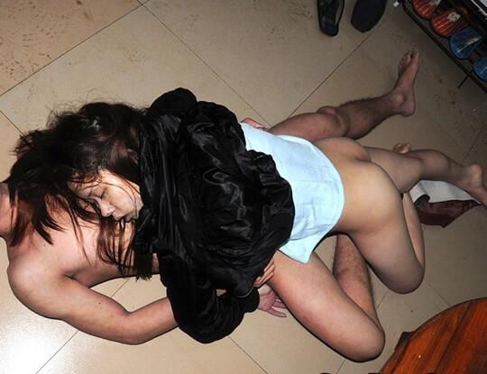 キメセクで死亡したカップルのグロ画像